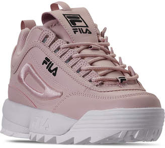 Fila Women Disruptor Ii Premium Embroidery Casual Athletic Sneakers from Finish Line