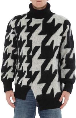 Alexander McQueen Patterned Woolen Pullover