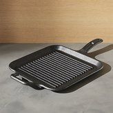 Crate & Barrel Lodge ® Cast Iron Grill Pan