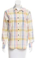 Creatures of Comfort Allen Plaid Button-Up w/ Tags