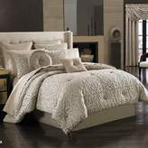 J Queen New York Astoria Queen Comforter Set in Sand