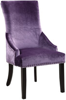 Chic Home Set Of 2 Machla Lavender Dining Chairs