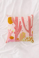 Urban Outfitters Cactus Landscape Throw Pillow