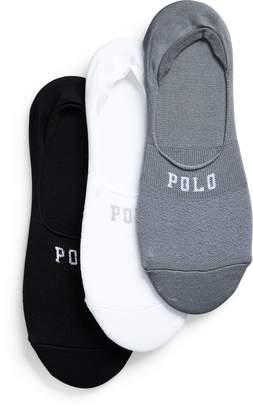 Ralph Lauren Microfiber Liner Sock 3-Pack
