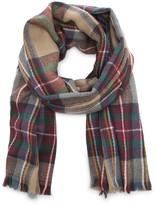 Sole Society Wool plaid scarf
