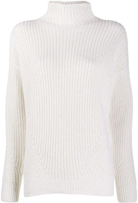 Lorena Antoniazzi Ribbed-Knit Turtleneck Jumper