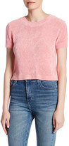Cotton Emporium Hi-Lo Short Sleeve Sweater