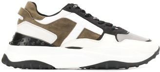 Tod's panelled low chunky sneakers