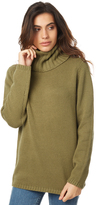 Rusty Jackson High Neck Knit Natural