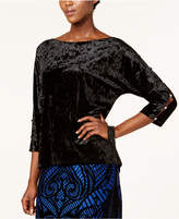 Cable & Gauge Embellished Cutout Top
