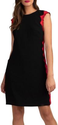 Trina Turk Whim Lace Trimmed Dress