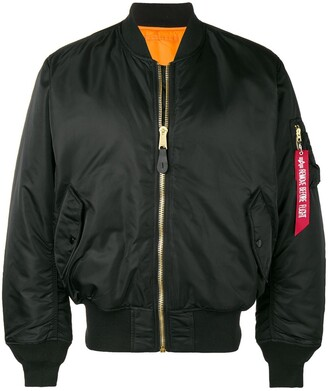 Alpha Industries loose bomber jacket
