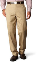 Dockers D4 Signature Relaxed-Fit Flat-Front Khaki Pants