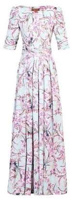 Dorothy Perkins Womens *Jolie Moi Aqua Floral Maxi Dress
