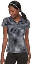 Fila Sport Women's FILA SPORT Short Sleeve Printed Golf Polo