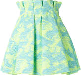 MSGM paperbag waist skirt