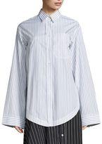 Aquilano Rimondi Oversized Striped Shirt