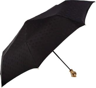 Alexander McQueen Swarovski-Embellished Skull Folded Umbrella
