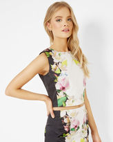 DIIVINE Forget Me Not cropped top
