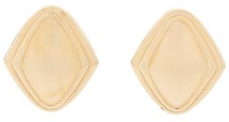 Susan Caplan Vintage 1980s Vintage Monet Rhombus Shape Clip-on Earrings