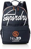 Superdry International Montana, Men's Backpack, Blu (International Navy), 30.0x45.0x15.0 cm (W x H L)