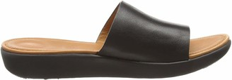 FitFlop Women's Sola Leather Slide Sandal