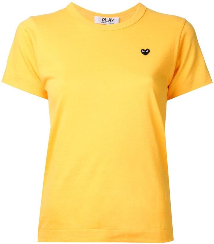 Comme des Garcons black heart T-shirt