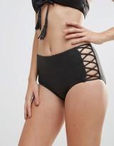 Seafolly Lattice Highwaist Bikini Bottom
