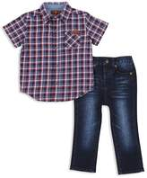 7 For All Mankind Boys' Button-Up Shirt & Jeans Set - Baby