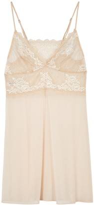 Wacoal Lace Perfection Sand Chemise