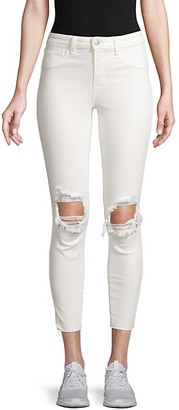 L'Agence Margot High Rise Destroy Skinny Jeans
