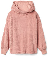 Sherpa hoodie pullover sweater