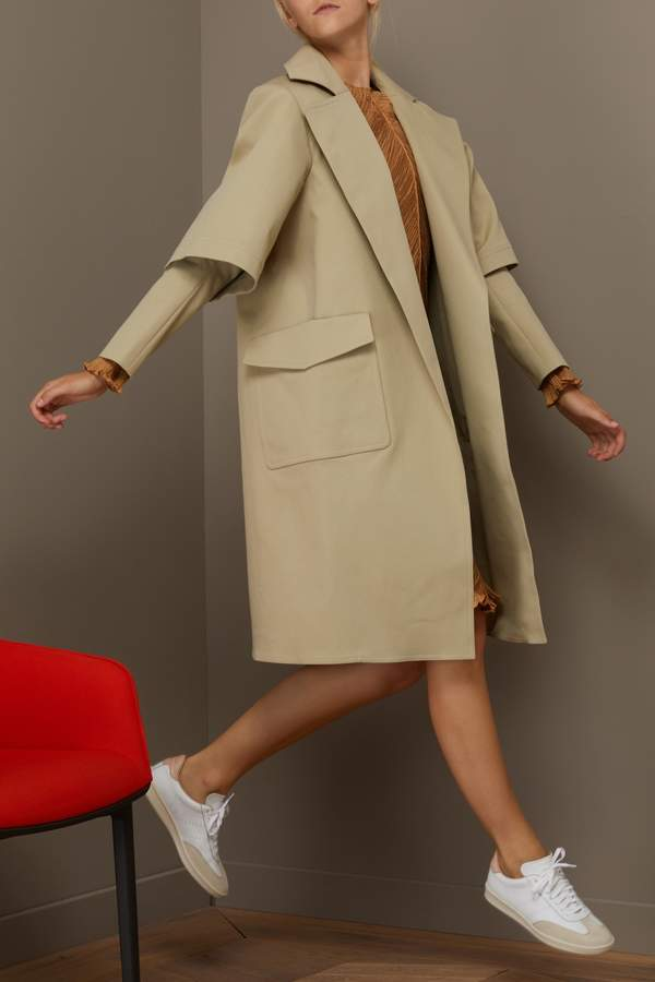 Maison Rabih Kayrouz Double Sleeves Trench Coat