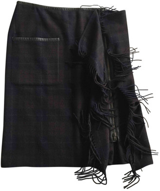 Hermes Green Cashmere Skirts