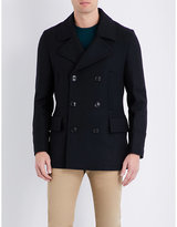 Ps By Paul Smith Double-breasted Wool-blend Peacoat
