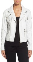 Rudsak Women's Asymmetrical Zip Leather Moto Jacket