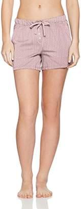 Marc O'Polo Body & Beach Women's Shorts Pyjama Bottoms, Red (Altrosa 5), UK