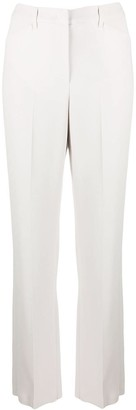 Emporio Armani High-Waisted Pleat Detail Trousers