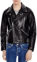 Sandro Fan Leather Jacket