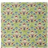 D'Ascoli Set Of Four Symryna Cotton Napkins - Green Print