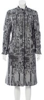 Bottega Veneta Brocade Long Coat