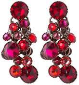 Konplott WATERFALLS Earrings red/dark rose dark