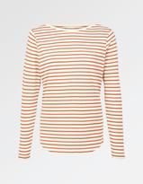 Fat Face Multi Stripe Breton T-Shirt