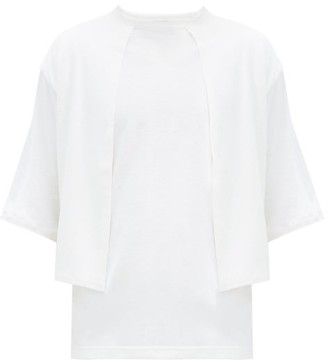 SASQUATCHfabrix. Tombi Layered Jersey T-shirt - White