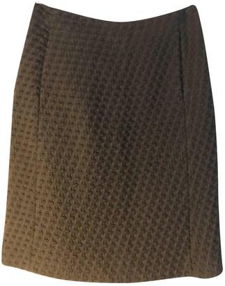 Cerruti Black Wool Skirt for Women