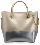 Kartell Grace K Shopper Bag - Glitter Gold/Chrome