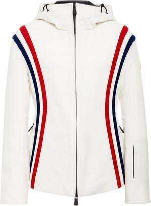 MONCLER GRENOBLE Striped Shell Ski Jacket