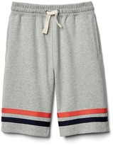 Gap Dual-stripe terry shorts