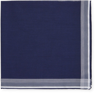 Simonnot Godard Satin-Edge Cotton Pocket Square