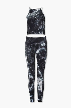 Forever 21 Tie-Dye Cami Leggings Set